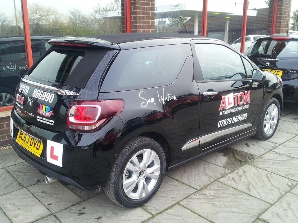 Alton Driving School Citroen DS3